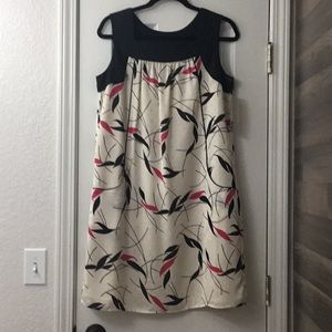 NWT, Mossimo dress, Black/Pink/Cream, size M